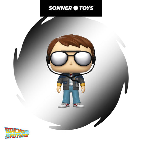 Pop! Back to the Future - Marty (with Glasses)
