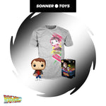 Pop! Back to the Future - Marty with Hoverboard (Pop! & Tee) Special Edition
