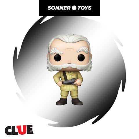 Pop! Clue - Colonel Mustard (with Revolver) Special Edition
