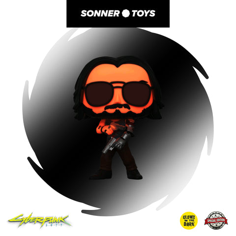 Pop! Cyberpunk 2077 - Johnny Silverhand (GITD) Special Edition