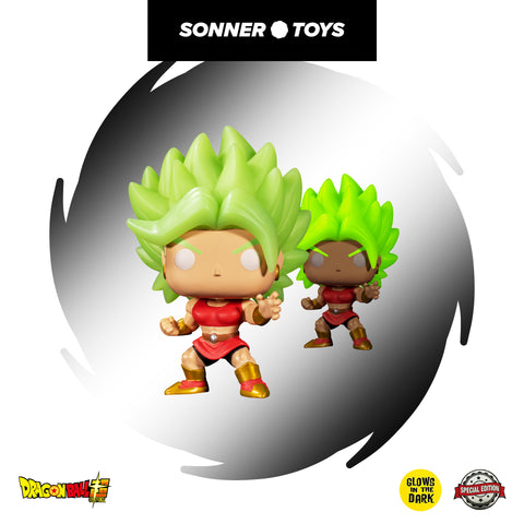 Pop! Dragon Ball Super - Super Saiyan Kale (GITD) Special Edition - SonnerToys