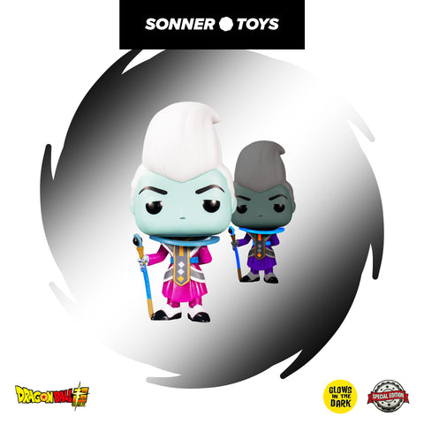 Pop! Dragon Ball Super - Whis (GITD) Special Edition - SonnerToys