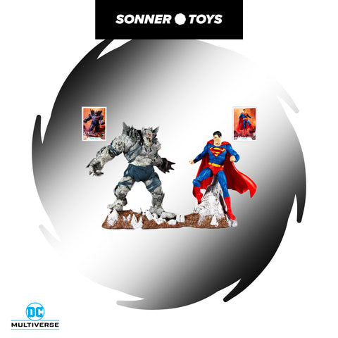 McFarlane Toys: DC Multiverse - Devastator vs Superman (2 Pack)