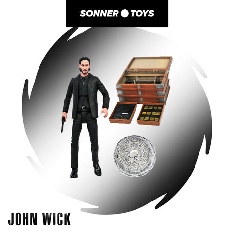 Diamond Select: John Wick Deluxe Box Set