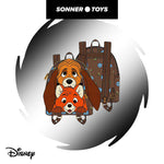 Loungefly: Disney - Fox & Hound Mini Backpack