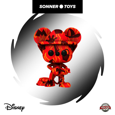 Pop! Disney: Art Series - Mickey Mouse (Firefighter) Special Edition
