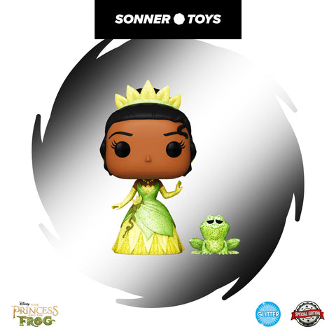 Pop! Princess & the Frog - Tiana & Naveen (Glitter) Special Edition