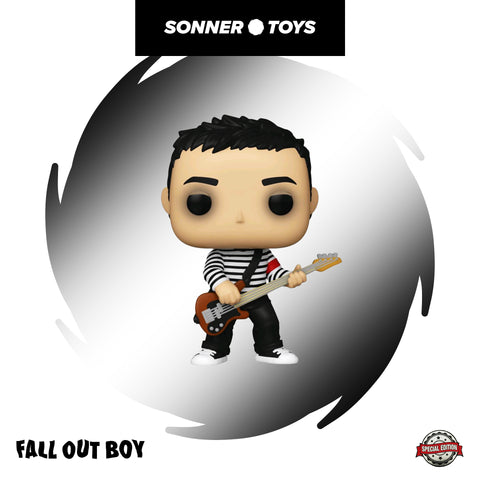 Pop! Rocks: Fall Out Boy - Pete Wentz (In Sweater) Special Edition