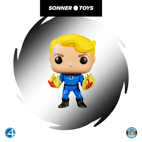 Pop! Fantastic Four – Human Torch (Speciallity Series) - SonnerToys