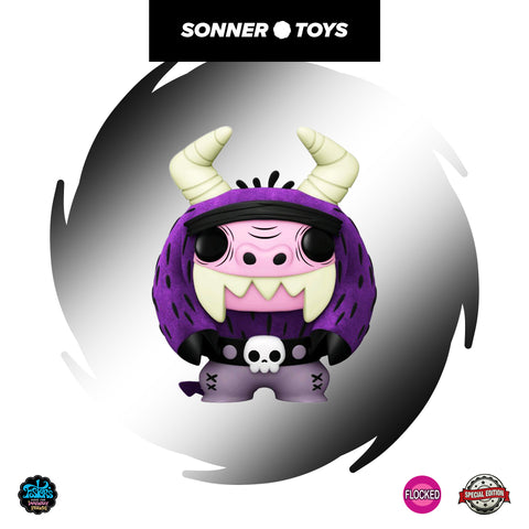Pop! Fosters Home for Imaginary Friends - Eduardo (Flocked) Special Edition
