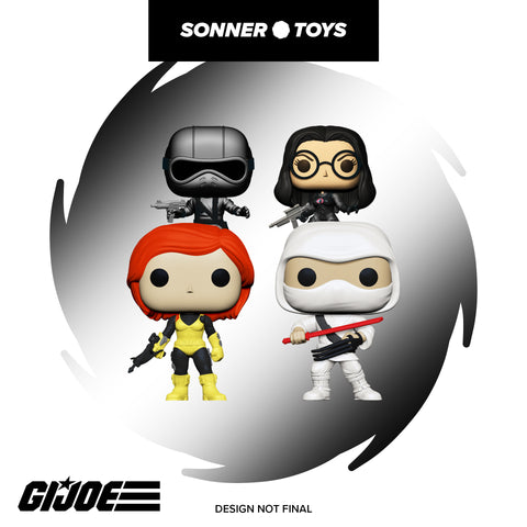 Pop! GI Joe - Complete Set of 4