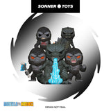 Pop! Godzilla vs Kong - Complete Set of 5