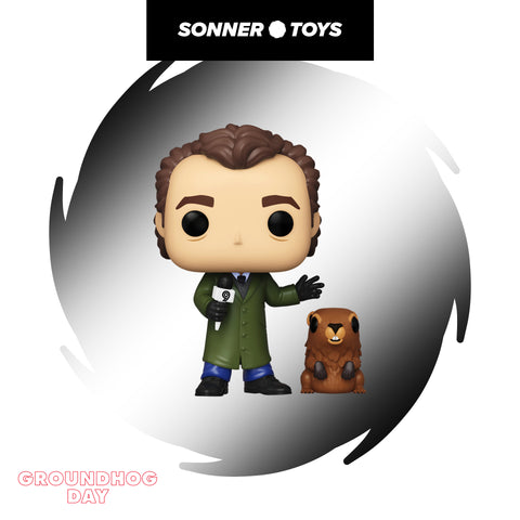 Pop! Groundhog Day - Phil Connors with Punxsutawney Phil