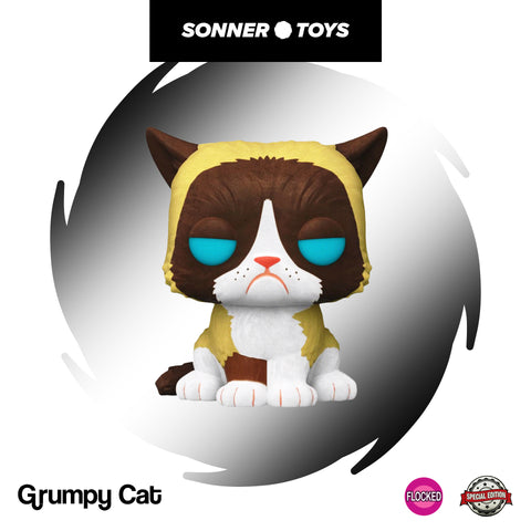 Pop! Icons - Grumpy Cat (Flocked) Special Edition