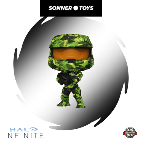 Pop! Halo: Infinite - Master Chief (Hydro Deco) Special Edition