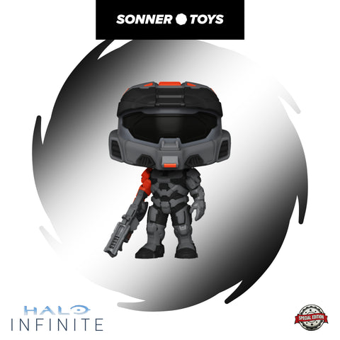 Pop! Halo: Infinite - Spartan Mark VII (Black) Special Edition