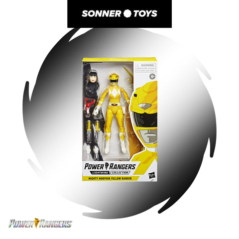 Power Rangers: Lightning Collection - Yellow Ranger (Mighty Morphin)