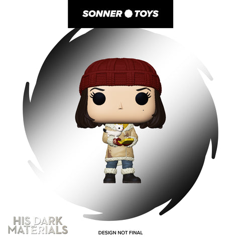 Pop! His Dark Materials - Lyra with Pan