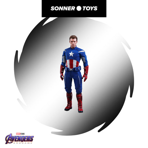 Hot Toys - Avengers: Endgame - Captain America (2012 Version) - SonnerToys