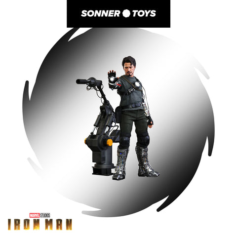 Hot Toys: Iron Man - Tony Stark (Mech Test) Deluxe - SonnerToys