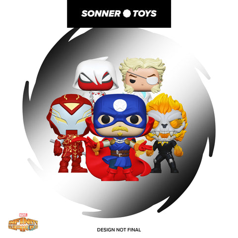Pop! Marvel: Infinity Warps - Complete Set of 6