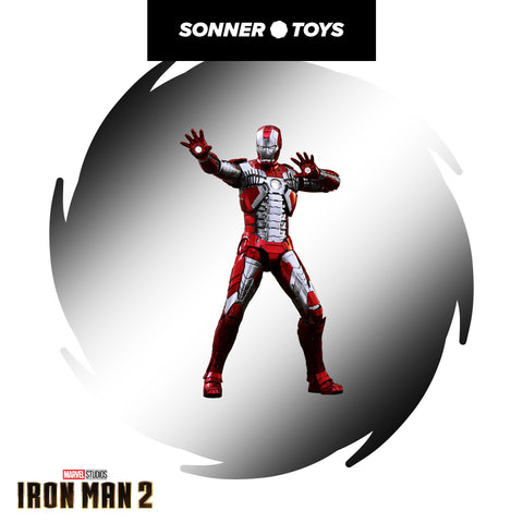 Hot Toys: Iron Man 2 - Mark V (DIECAST) Reissue