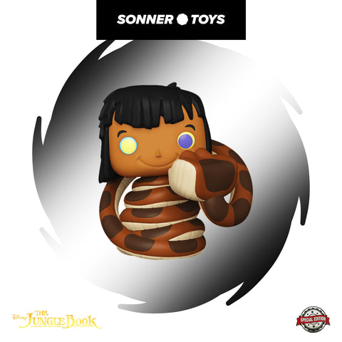 Pop! The Jungle Book - Mowgli (with Kaa) Special Edition