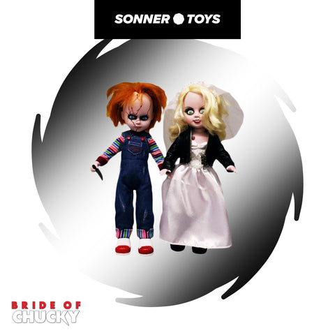 Living Dead Dolls: Bride of Chucky - Chucky & Tiffany