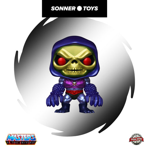 Pop! Masters of the Universe - Skeletor w/Terror Claws (Metallic) Special Edition