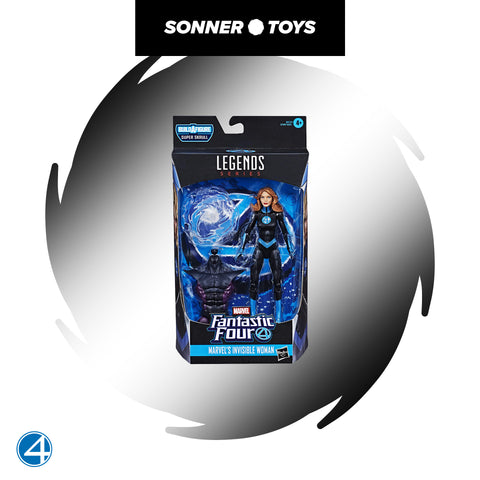 Marvel Legends: Fantastic 4 - Invisible Woman - SonnerToys
