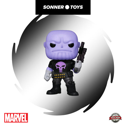Pop! Marvel - Thanos as Punisher (6 Inch) Special Edition