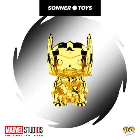 Pop! Marvel Studios 10 Years - Thor (Gold Chrome)