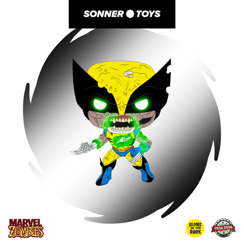Pop! Marvel Zombies - Wolverine (GITD) Special Edition
