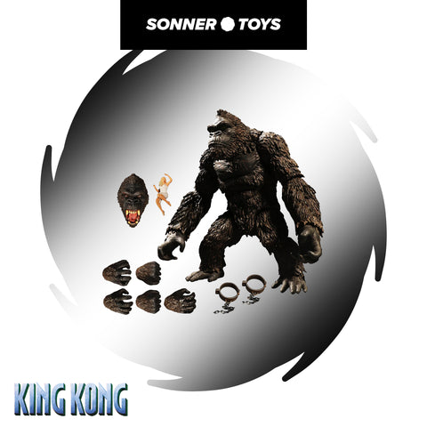 Mezco: The King Kong of Skull Island (Action Figure)