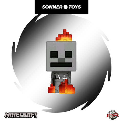 Pop! Minecraft - Skeleton (on Fire) Special Edition