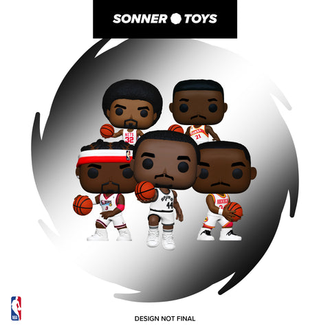 Pop! NBA: Legends - Complete Set of 7