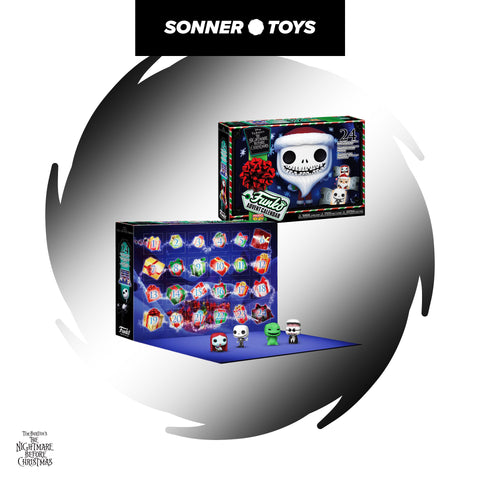 Funko: Advent Calendar - The Nightmare Before Christmas - SonnerToys