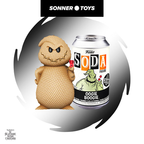 Funko Vinyl Soda: Nightmare Before Christmas - Oogie Boogie