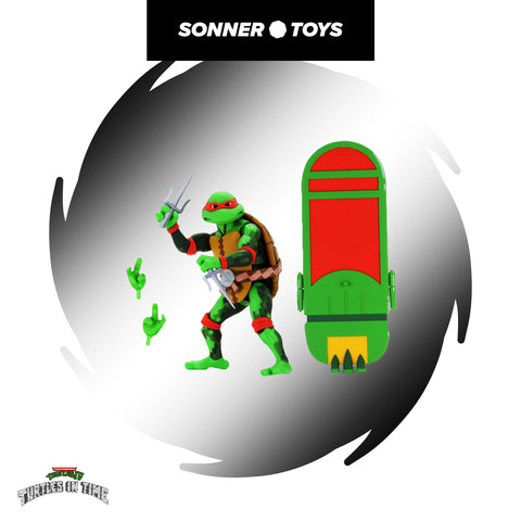 NECA: TMNT Turtles in Time - Raphael - SonnerToys