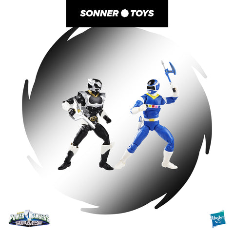 Power Rangers: Lighting Collection - In Space Blue Ranger Vs. Silver Psycho Ranger