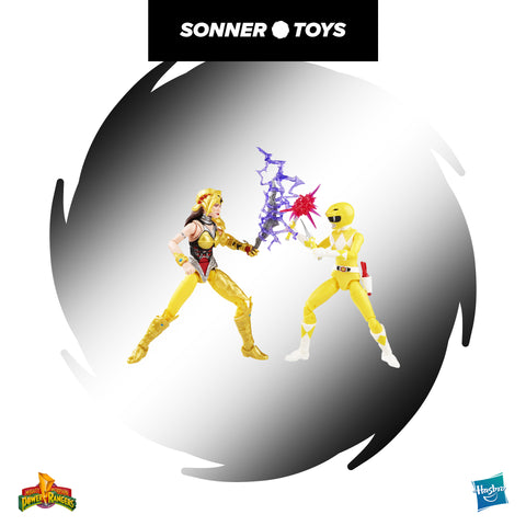 Power Rangers: Lightning Collection - Mighty Morphin Yellow Ranger Aisha vs Scorpina