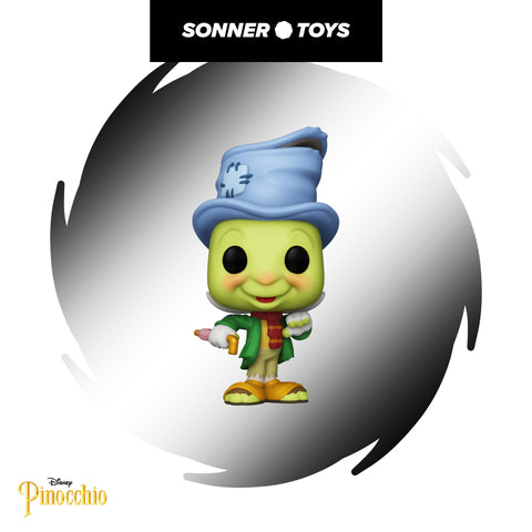 Pop! Disney's Pinocchio - Jiminy Cricket (Street)