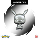 Pop! Pokemon - Pikachu Metallic (10 Inch) Special Edition