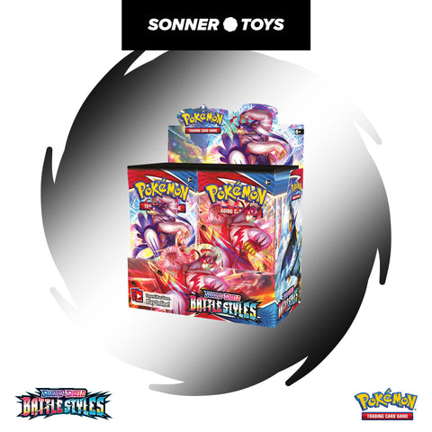 Pokemon TCG: Sword & Shield Battle Styles - Booster Packs