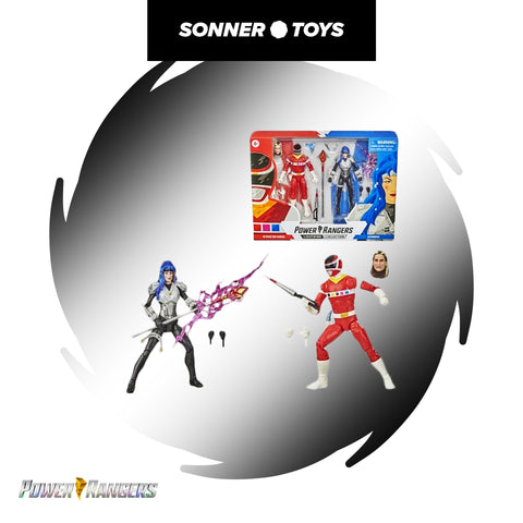 Power Rangers: Lightning Collection - In Space Red Ranger vs Astronema
