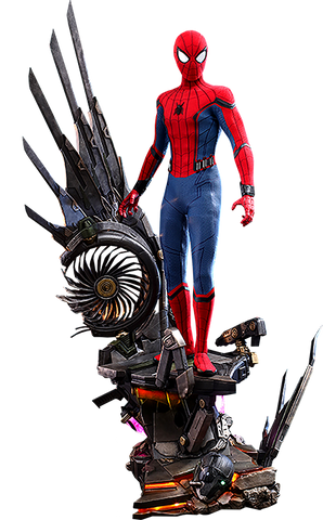 Hot Toys - Spider-Man: Homecoming - 1/4th Spider-Man (DELUXE) - SonnerToys
