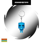 Pocket Pop! Retro Toys - Rock Em Sock Em Robot (Blue)