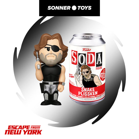 Funko Vinyl Soda: Escape from New York - Snake