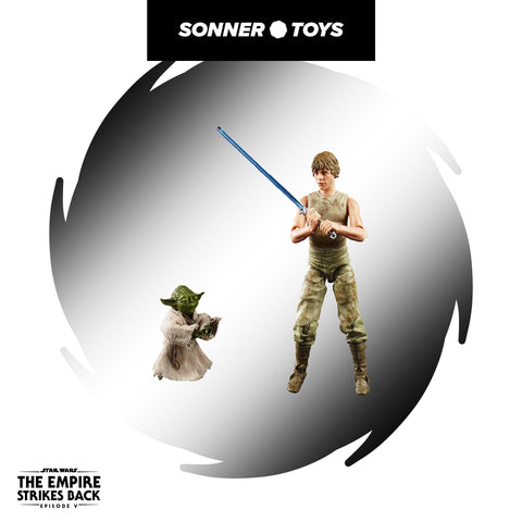 Star Wars: Black Series - Luke Skywalker & Yoda (Jedi Training)