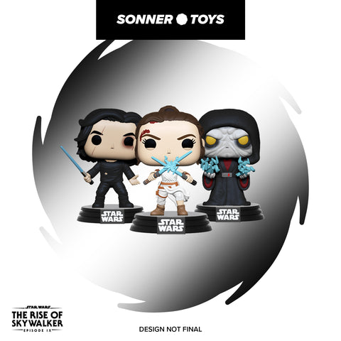 Pop! Star Wars: The Rise of Skywalker - Set of 4